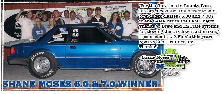 Shane Moses uses his EZ-Plate System to win twice in one night!
